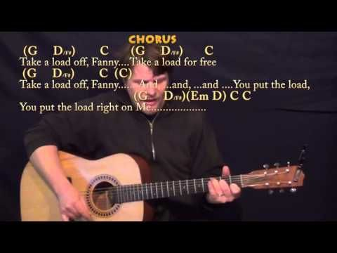 The Weight The Band Strum Guitar Cover Lesson In G With Chords