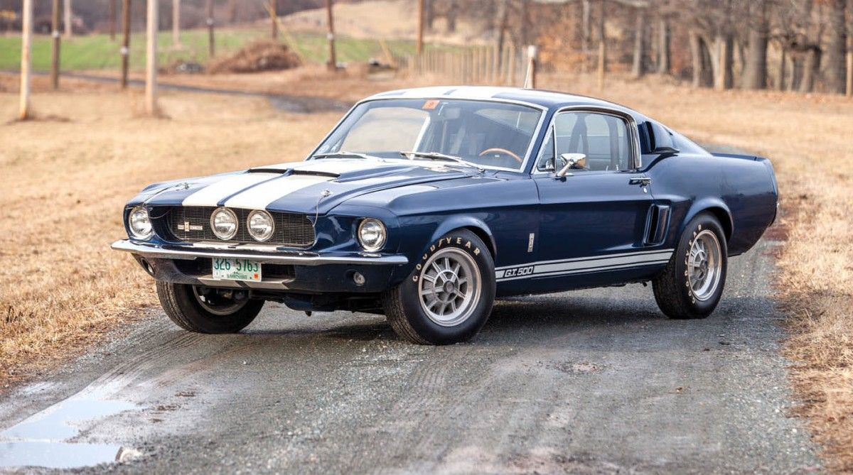 1967 shelby gt 500 fastback