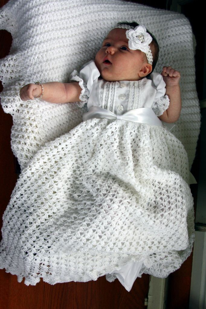 Love this blessing dress   Tejidos para bebe y niños   Pinterest ...