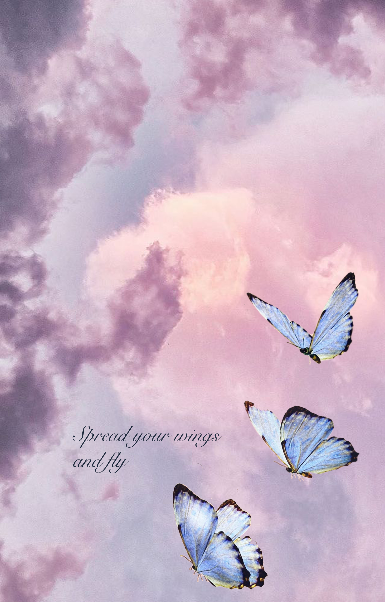 My First Background Butterfly Wallpaper Iphone Wallpaper Tumblr Aesthetic Iphone Background Wallpaper