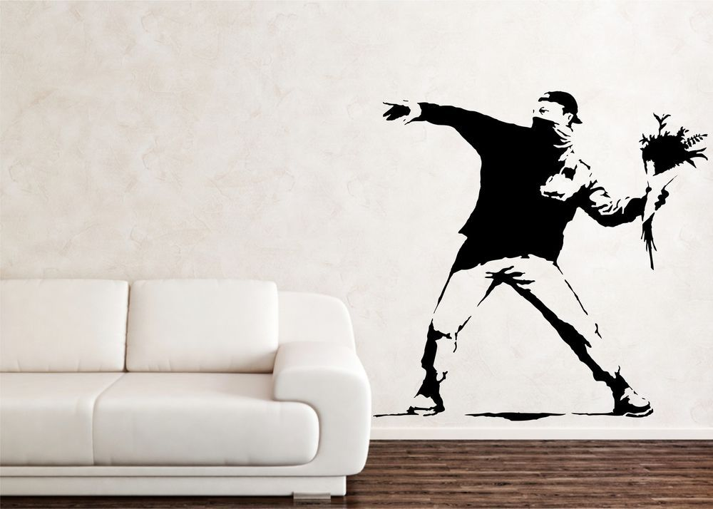 Art logo modern wall decals stickers ebay
