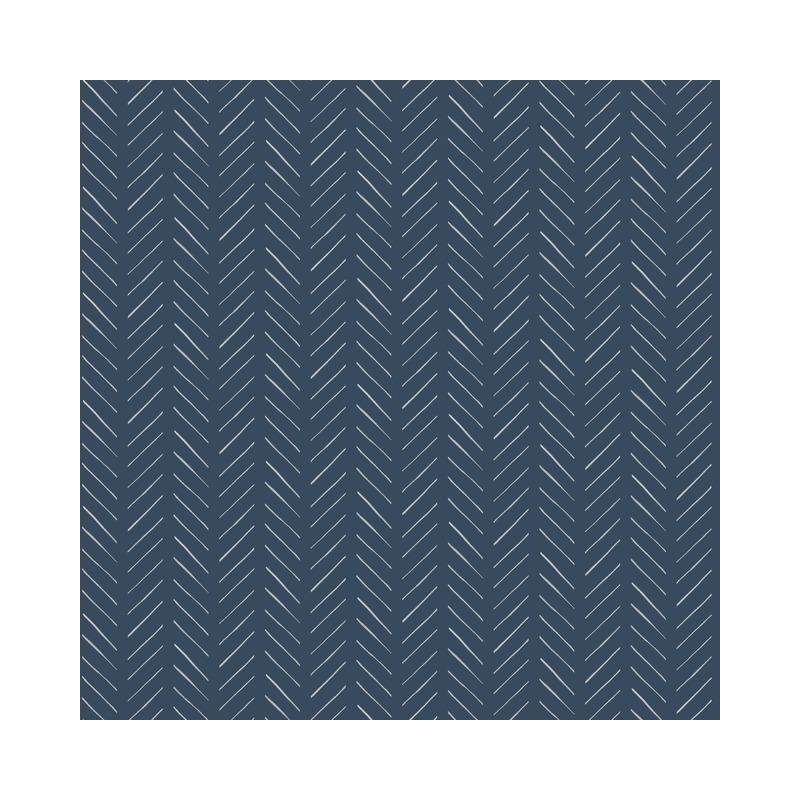 Psw1022rl Magnolia Home Vol Ii Chevron Blue Peel And Stick Wallpaper Joanna Gaines Wallpaper Magnolia Homes Special Wallpaper