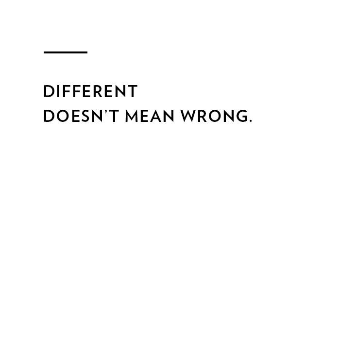 different doesnu0027t mean wrong Inspiration Motivation, Goals - copy and paste resume