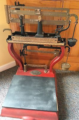 Antique Dayton Grocery Store Scale Computing Scale Co