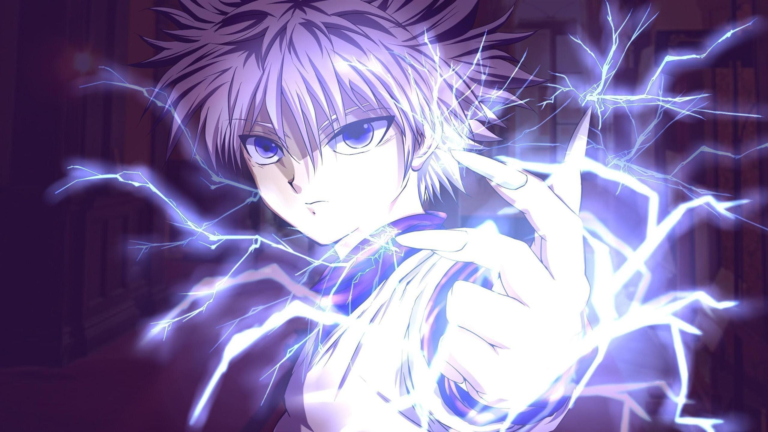 Killua Zoldyck Hunter X Hunter Anime Wallpaper Id 2590 Download Page Personagens De Anime Cenario Anime Papel De Parede Hd