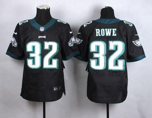 "$23.88 at ""MaryJersey""(maryjerseyelway@gmail.com) Nike Eagles 32 Eric Rowe Black Alternate Men Stitched NFL New Elite Jersey"