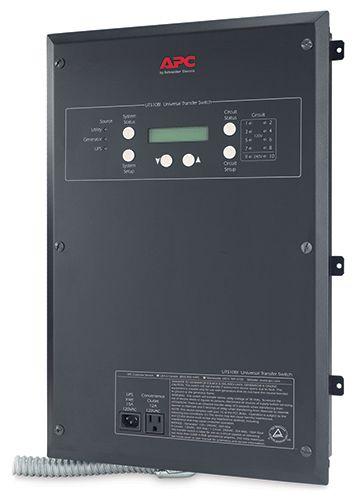 Universal Transfer Switch 10Circuit 120/240V Transfer