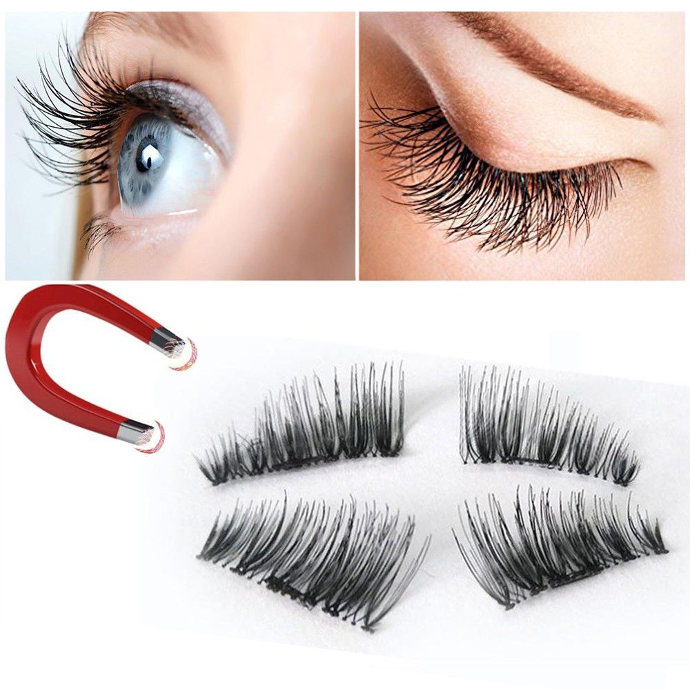 88b5fa065c2 False Magnetic Eyelashes 3D Reusable Fake Eyelashes ,Best Fake eye Lashes  Extensions No false eyelashes