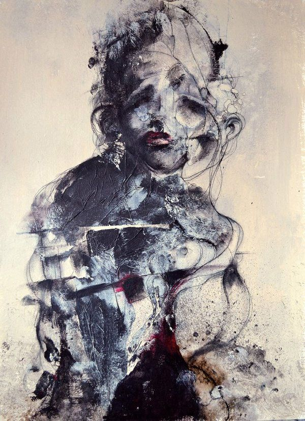 Dark abstract portraits by Eric Lacombe | Abstract portrait and ...