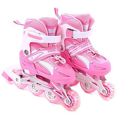 Children's Inline Skates Girls Inline Skates Adjustable