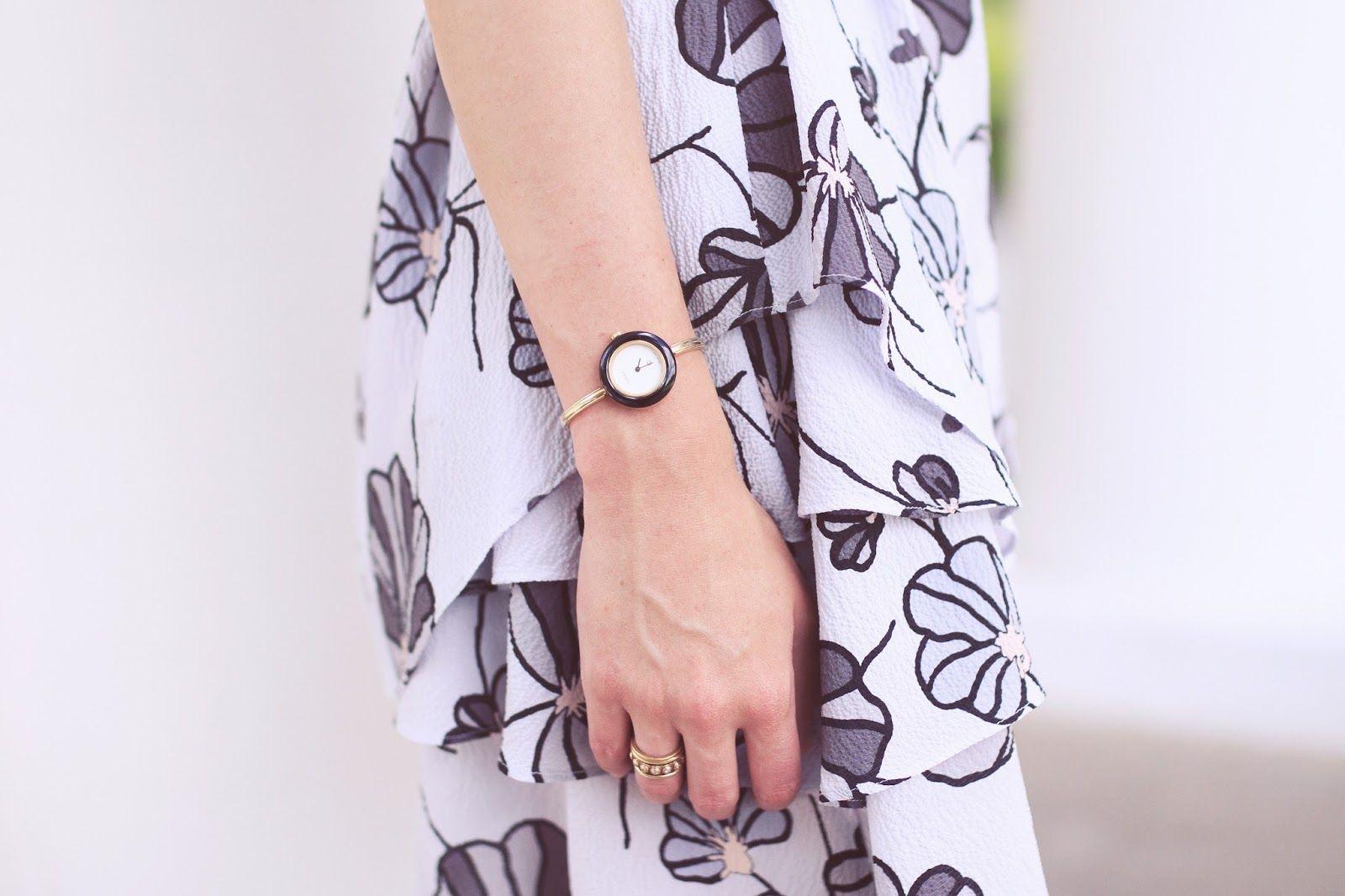 Emilee Anne wearing Derek Lam 10 Crosby Sleeveless Shirtdress // Chanel Belt // Christian Louboutin Espadrilles // Celine Sunglasses