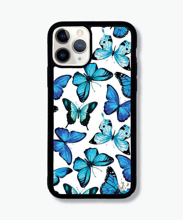 Lilac Reign Cases Bluu Butterflies Case Creative Iphone Case Girly Phone Cases Iphone Cell Phone Cases
