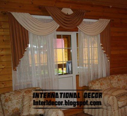 Curtains Designs For Living Room Alluring Top Living Room Curtain Model With Unique Draperies Design  House Design Inspiration