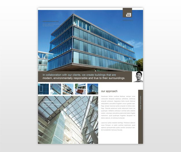 architect-and-design-firm-flyer-template | newsletter design