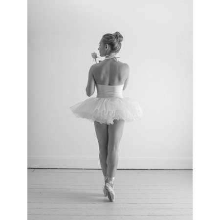 Young female ballerina Canvas Art - Assaf Frank (18 x 24)
