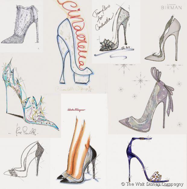 dessin chaussure talon haute manga