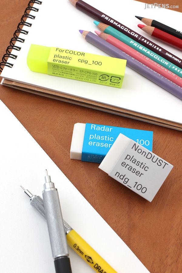 seed graph erasers are made for specific erasing applications such