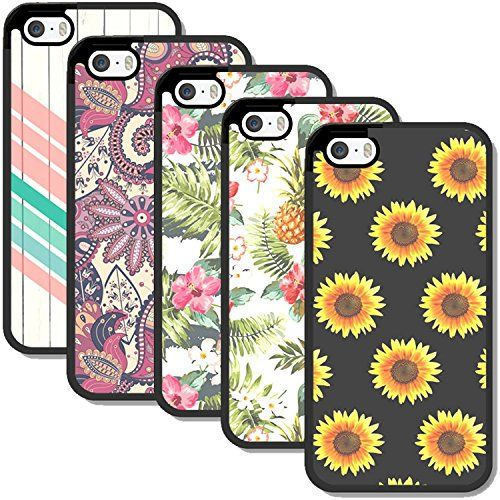 IPhone 5S Case For Teen Girls 5 BUNDLE Pack By SnapWolf