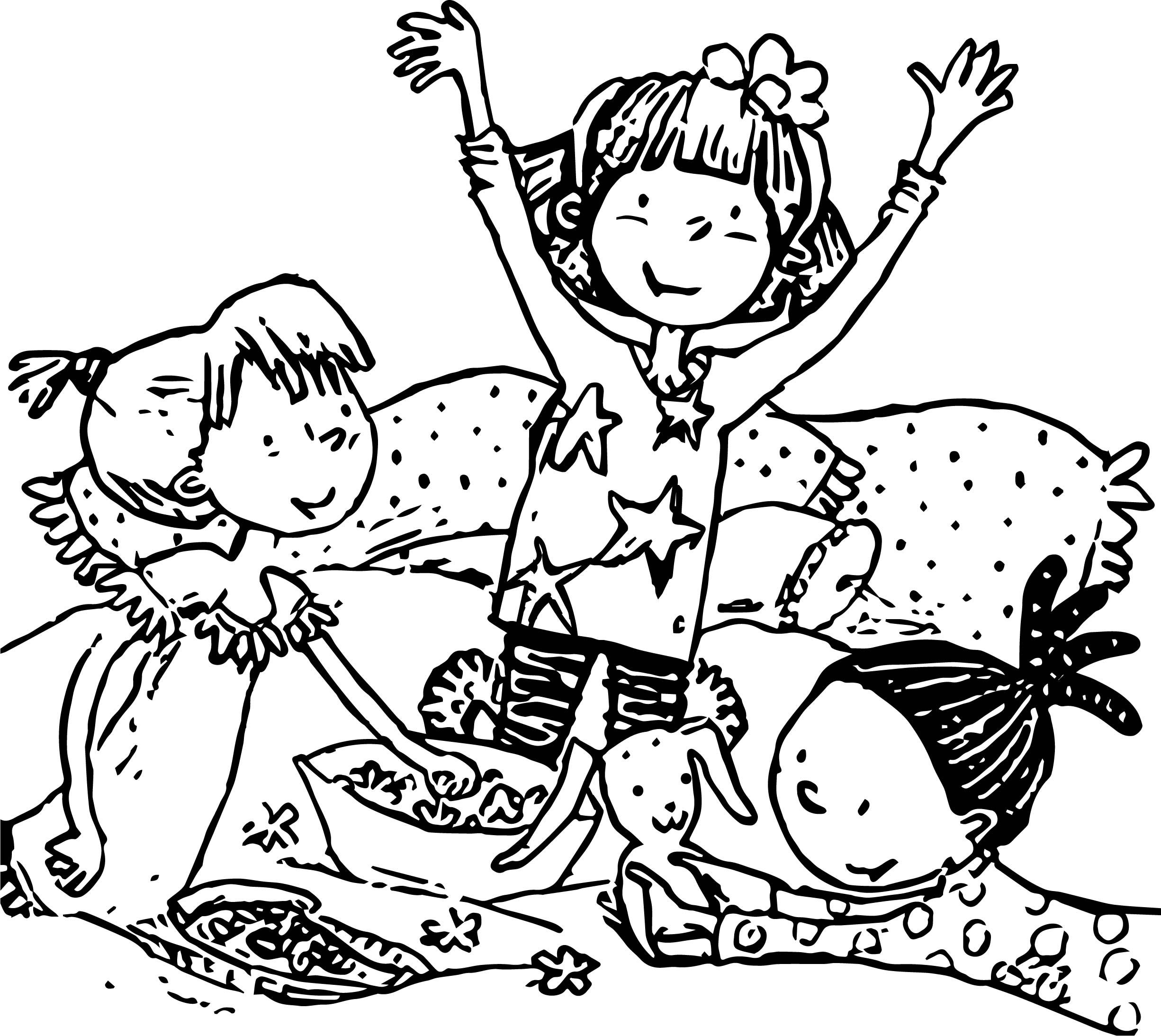 Nice Amelia Bedelia With Friends Coloring Page Coloring Pages Coloring Pages For Boys Amelia Bedelia