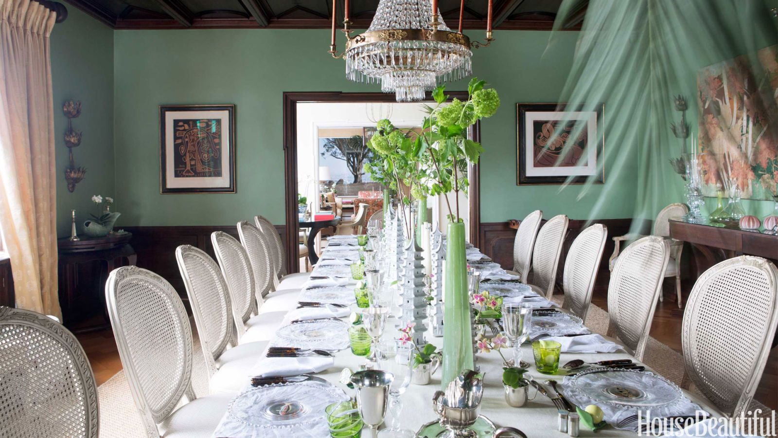 green dining room color ideas. 30 Most Colorful Ways To Paint Your Dining Room Green Color Ideas R