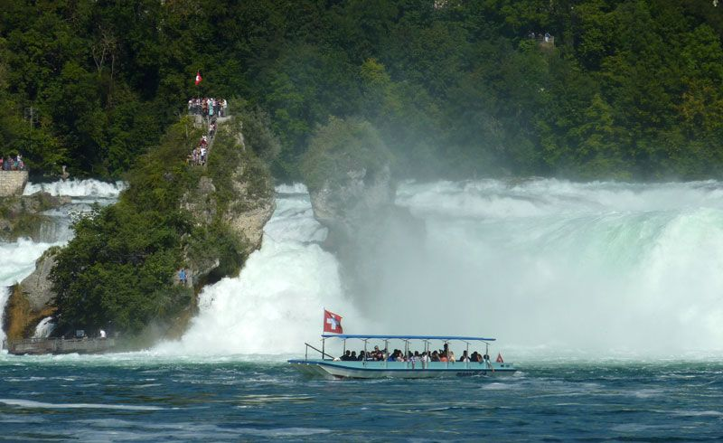 Rhine Falls An Unexpected Wild Spot 1 Hour From Zurich Travel Switzerland Great View