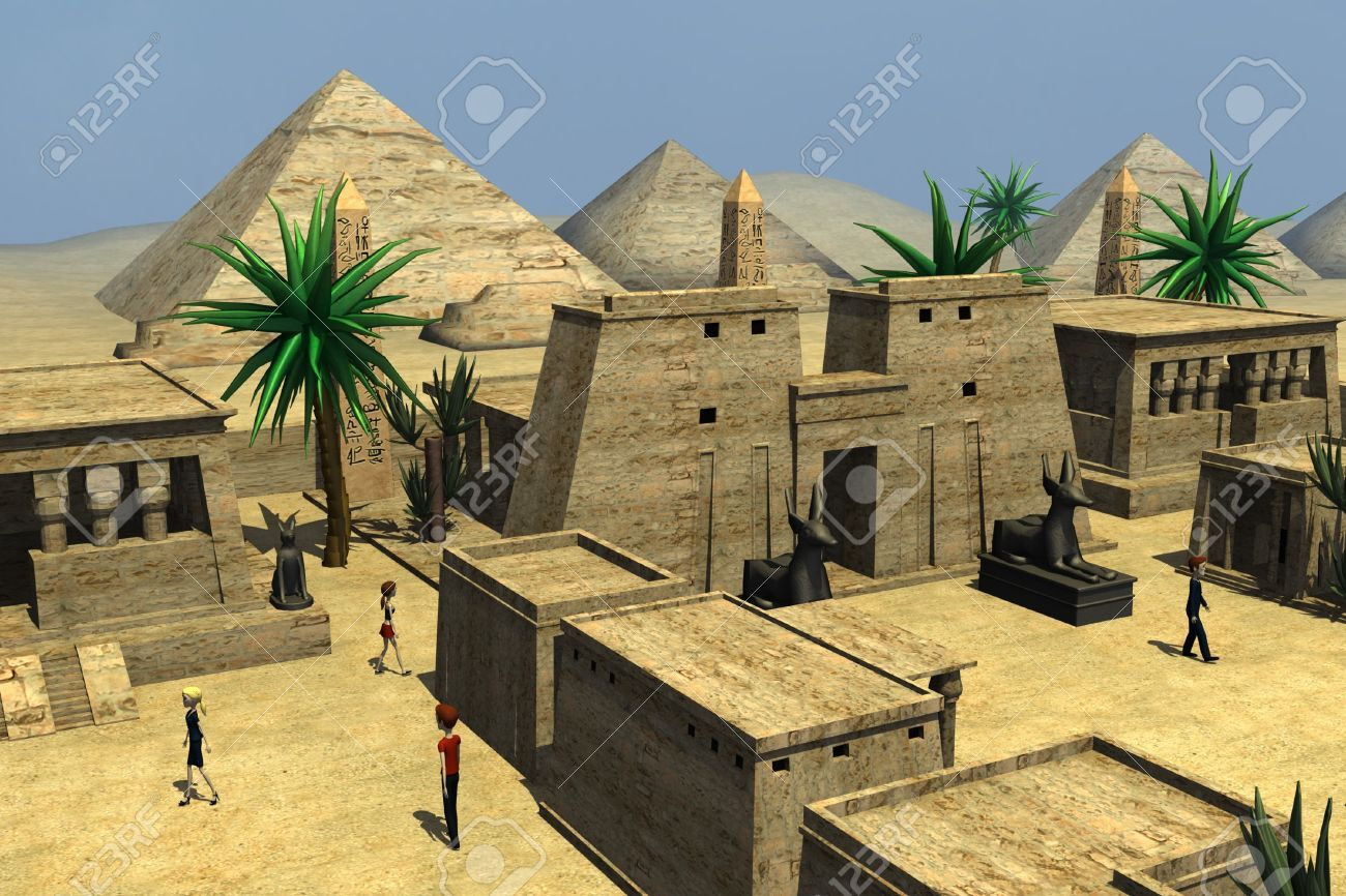 Image Result For Egypt Town