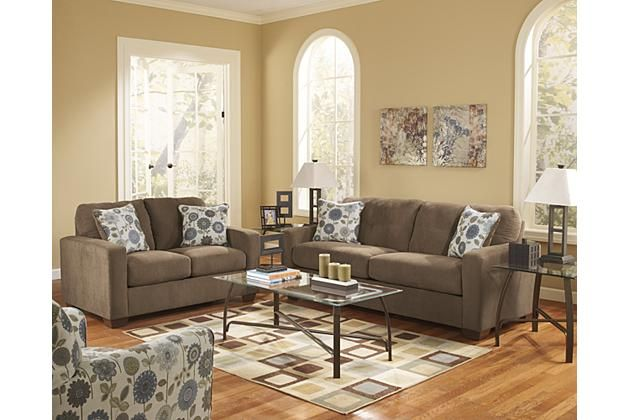 Metro modern living room furniture featuring a sofa loveseat