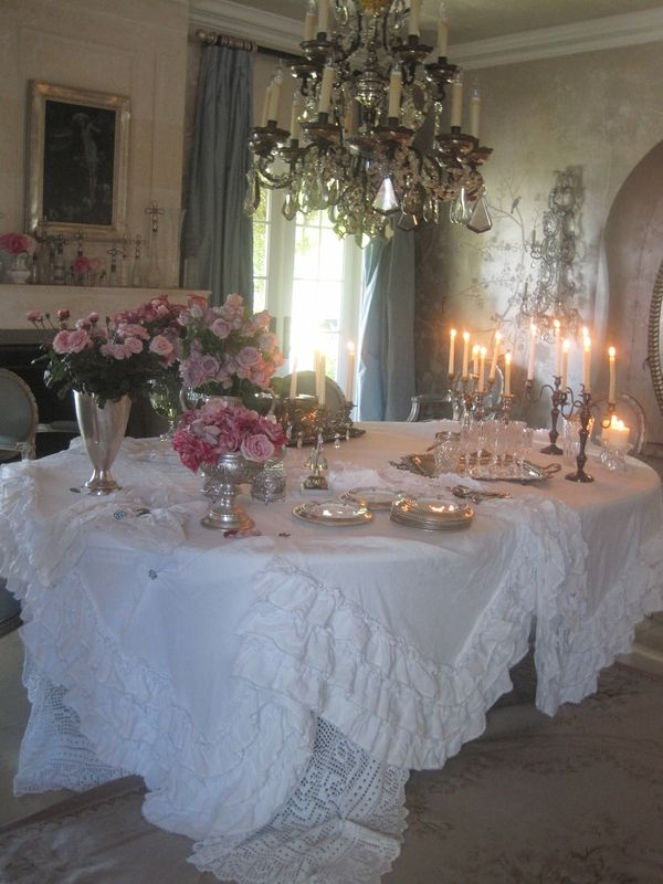 Sharon Osbournes Dining Room (from my Shabby Chic Inspirations Book)