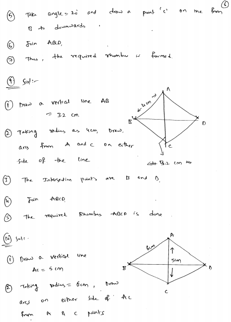 Special Types Of Quadrilaterals Rd Sharma Class 8 Solutions Ex 17 2 Class 8 Quadrilaterals Solutions