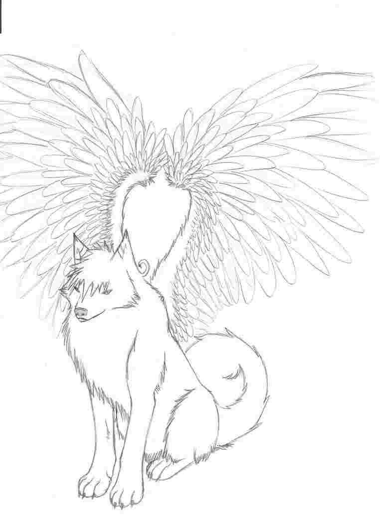 Cat With Wings Coloring Pages Coloring Pages Of Wolves With Wings Coloring Pages Of Wolves Dog Coloring Page Cat Coloring Page Dragon Coloring Page