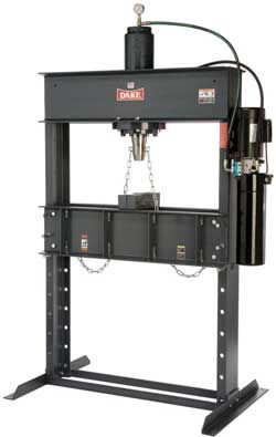Dake Hydraulic Shop Press H Frame C Frame Shop Press Hydraulic Shop Press Tool Design