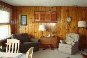 Interior decoration tips for rooms with Knotty Pine Paneling