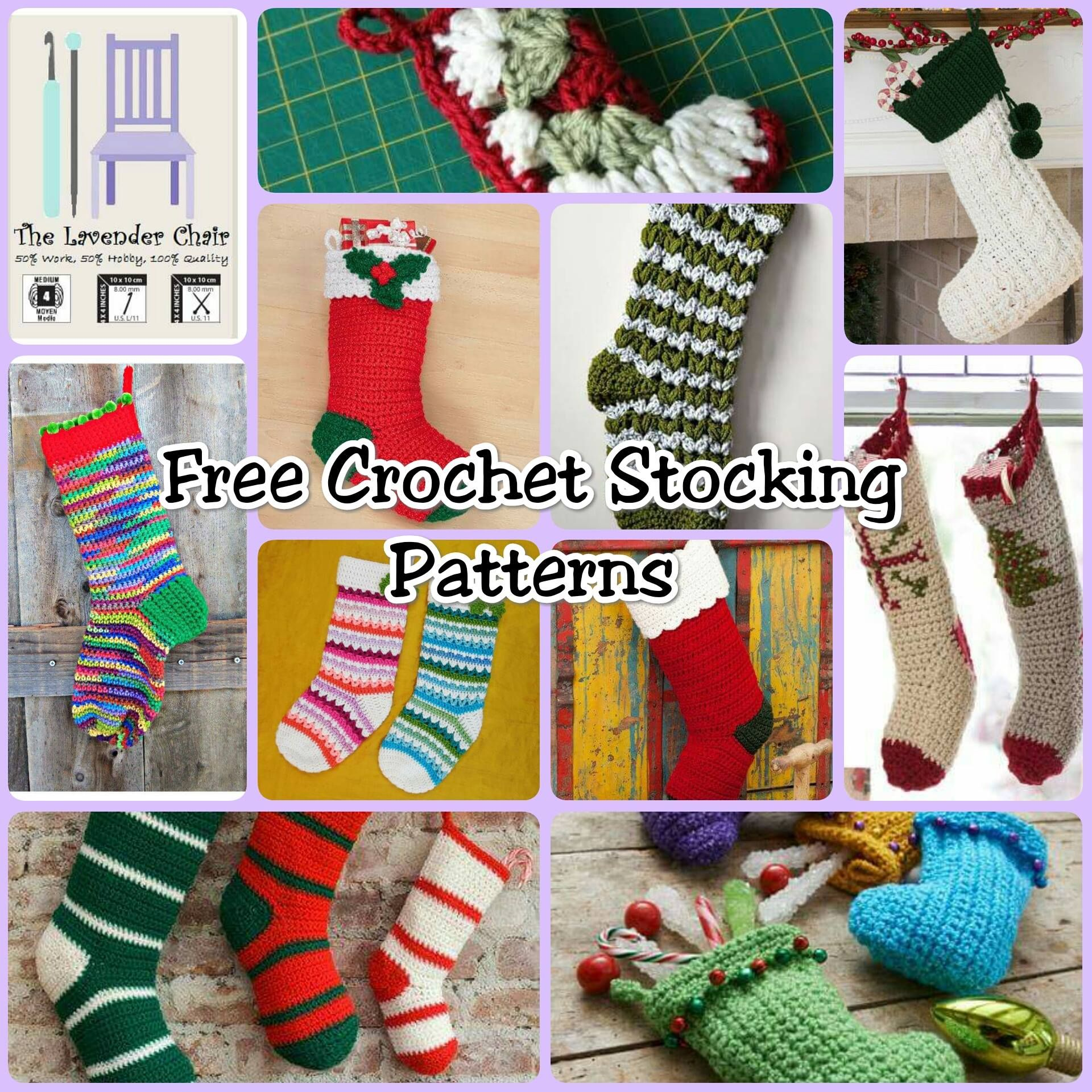 Free Stocking Crochet Patterns My Hobby Is Crochet Collaboration