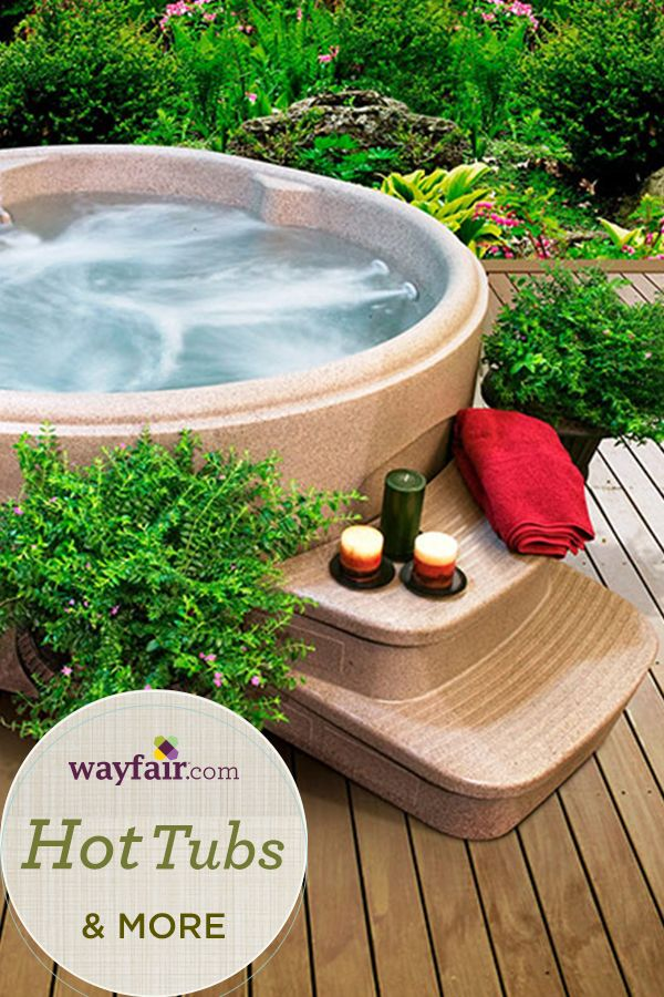 Spruce Up Your Outdoor Patio This Spring With Hot Tubs And More