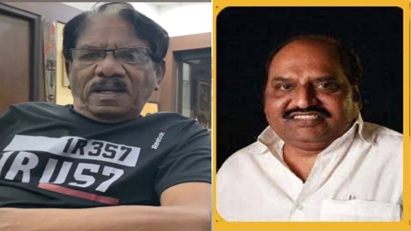Director Bharathiraja's Deepest Condolences to DMK MLA & Film Producer Anbazhagan
