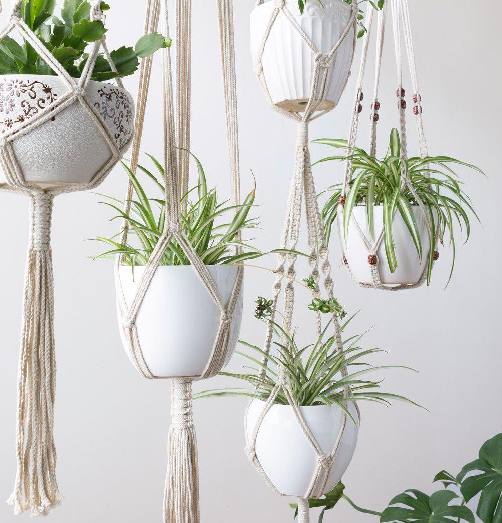 Hanging Plant Holder Rope Hanger For Plants Macrame Plant Hanger