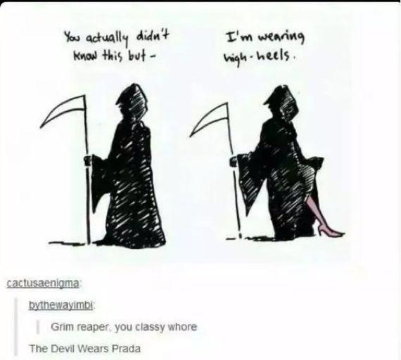 Grim reaper - 100 JOKES