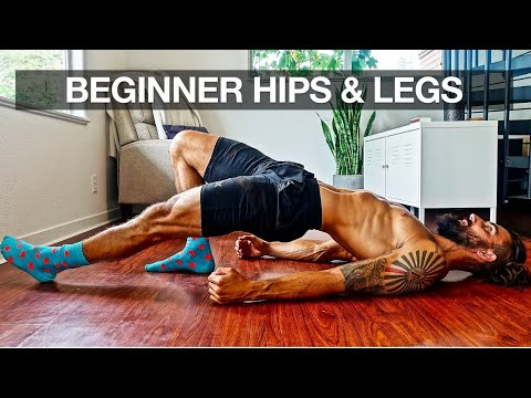 beginner leg workout at home full routine  youtube