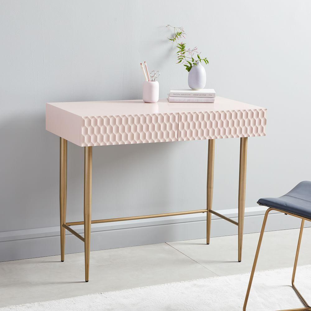 Mid Century Art Display Mini Desk Schreibtische Fur Kleine Raume Nyc Wohnung Luxus Wohnung