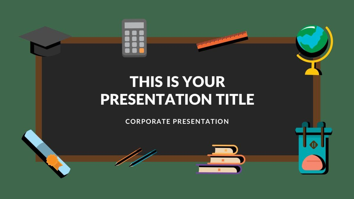 40 Free Education Google Slides Themes For Teachers Google Slides Themes Google Slides School Powerpoint Templates