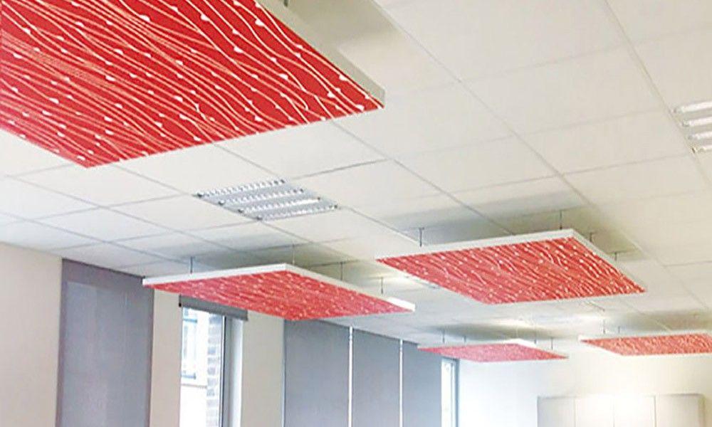 Banque Dalle Ilot Faux Plafond Acoustique Personnalisee Plafond Acoustique Faux Plafond Acoustique Plafond