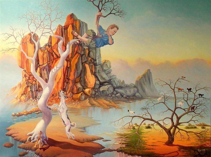 Increíble maestría de lo surrealista de Gyuri Lohmuller