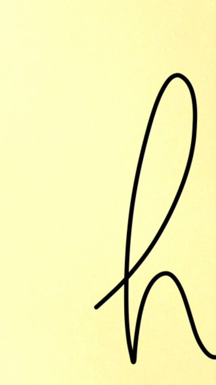 Hh H Yellow Monogram Aesthetic Background Simple Watercolor Wallpaper Iphone Watercolor Wallpaper Wallpaper Backgrounds