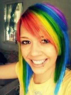 neon green hairs - Szukaj w Google