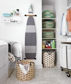 Real Simple: Laundry Room Organizing Ideas Turn any laundry room from scullery to sanctuary with these easy decorating and organizing ideas