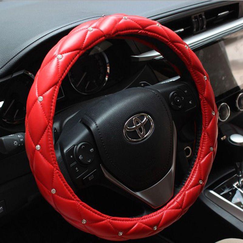 21.57 Hot Sales Diamond Genuine Leather Grip Auto