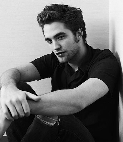Robert Patinson. Sigh. I really actually love him in breaking dawn.