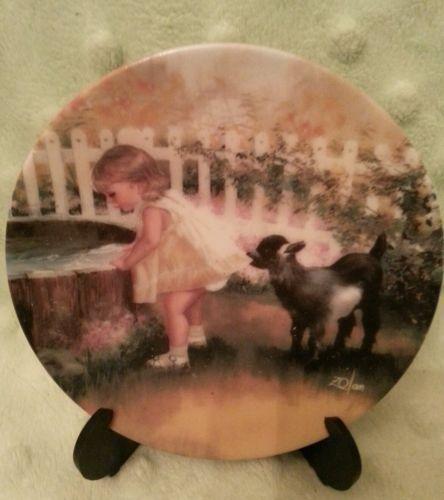 Donald Zolan miniature plate