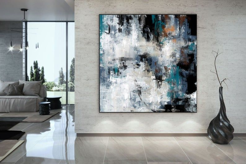 Extra Large Wall Art Textured Painting Original Etsy In 2020 Extra Large Wall Art Large Abstract Painting Abstract Painting