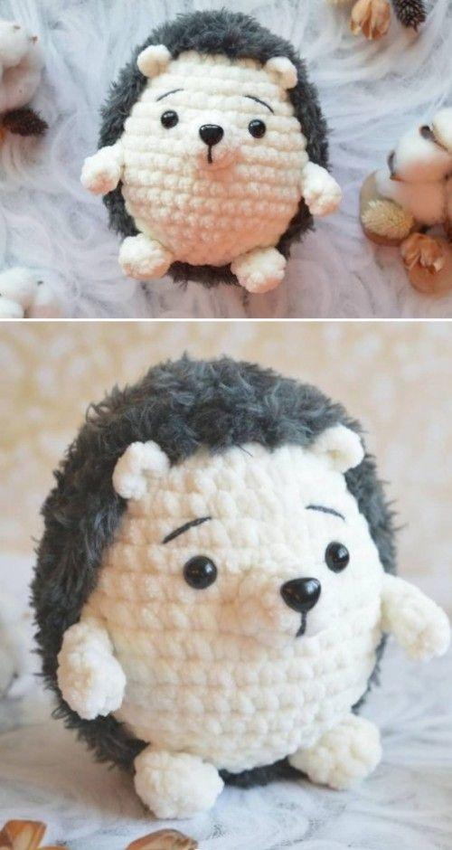 Amigurumi Hedgehog – Free Pattern (Beautiful Skills – Crochet Knitting Quilting)